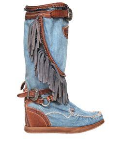 El Vaquero | Сапоги Joplin Из Кожи И 70Мм