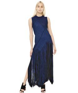Proenza Schouler | Платье Fringed Houndstooth