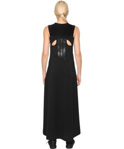 Y-3 | Organic Cotton Jersey Cut Out Dress