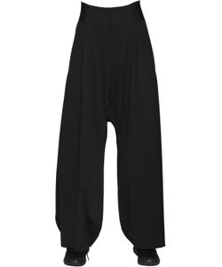 Y-3 | Superfine Cotton Jersey Wide Pants
