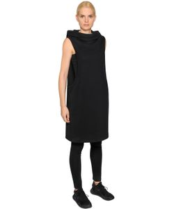Y-3 | Cotton Jersey Hooded Track Dress