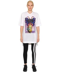 Y-3 | Alien Print Cotton Jersey T-Shirt Dress