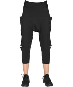 Y-3 | Cotton Jersey Sarouel Pants