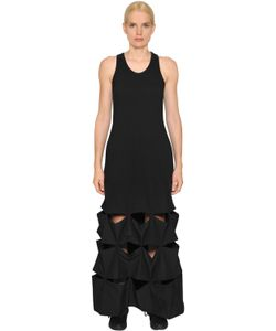 Y-3 | Terrycloth Cotton Dress W Origami Hem