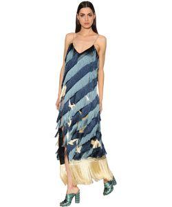 Marco De Vincenzo | Платье Из Крепа С Бахромой