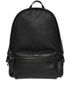 Moncler | Кожаный Рюкзак С Логотипом