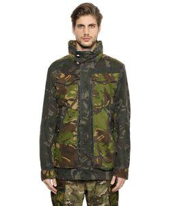 G-Star | Camo Cotton Gabardine Field Jacket
