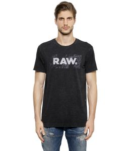 G-Star | Raw Print Organic Cotton Jersey T-Shirt