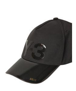 Y-3 | Logo Vinyl Stretch Cotton Hat