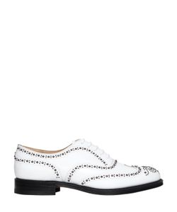 Church'S | Burwood Studded Leather Lace-Up Shoes