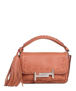 Tod'S | Small Double T Woven Leather Bag