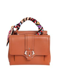 Paula Cademartori | Petit Faye Leather Top Handle Bag