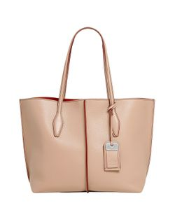 Tod'S | Medium Grained Leather Tote Bag