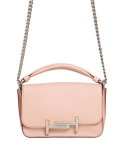 Tod'S | Mini Double T Leather Shoulder Bag