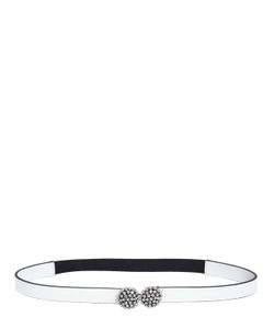Marni | Crystal Mid Waist Leather Belt