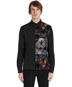 Mcq Alexander Mcqueen | Рубашка Из Поплин С Принтом