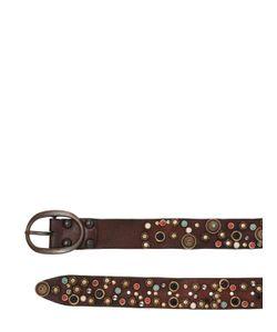 Campomaggi | 40mm Multi Studded Leather Belt