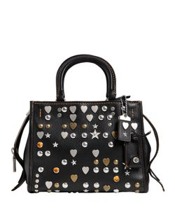 COACH 1941 | Small Studded Leather Top Handle Bag