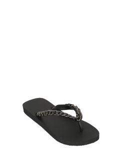 UZURII | 10mm Chained Rubber Flip Flops