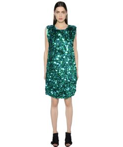 Gianluca Capannolo | Sequined Crepe Dress