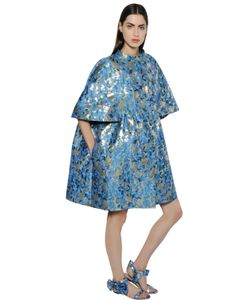 Gianluca Capannolo | Lurex Brocade Balloon Coat