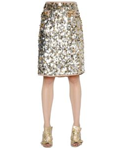Gianluca Capannolo | Sequined Crepe Skirt