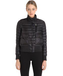 Moncler   Куртка-Бомбер Silene Из Стёганого Нейлона