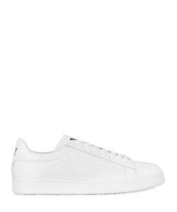 EA7 | New Classic Leather Low Top Sneakers
