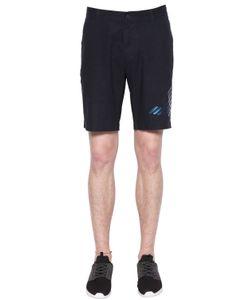 EA7 EMPORIO ARMANI   Linen Cotton Shorts