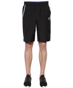 EA7 EMPORIO ARMANI   Logo Nylon Tennis Shorts