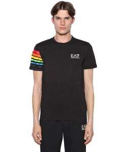 EA7 EMPORIO ARMANI | Rainbow Cotton T-Shirt
