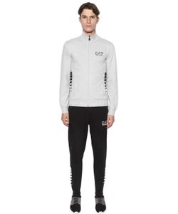 EA7 EMPORIO ARMANI | Logo Cotton Stretch Track Suit