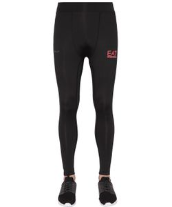 EA7 | Nylon Stretch Running Leggings