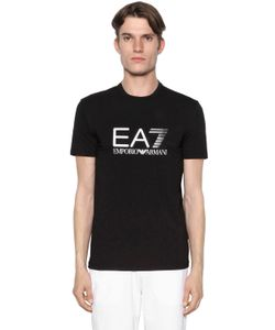 EA7 EMPORIO ARMANI | Logo Cotton Stretch T-Shirt