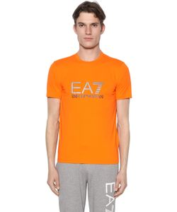 EA7 | Logo Cotton Stretch T-Shirt