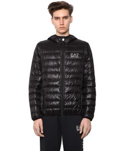 EA7 | Packable Hooded Quilted Down Jacket