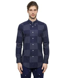 Brooks Brothers | Patchwork Milano Pin Point Cotton Shirt