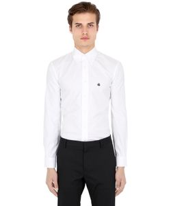 Brooks Brothers | Milano Pin Point Cotton Shirt