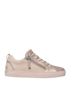 Crime | 20mm Zipped Suede Leather Sneakers
