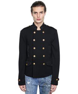 Dolce & Gabbana | Шерстяная Куртка В Стиле Милитари
