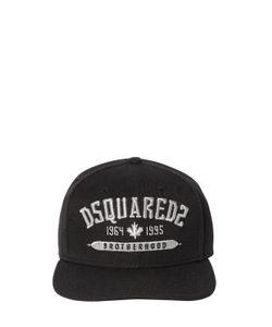 Dsquared2 | Бейсбольная Кепка Из Канвас С Вышивкой