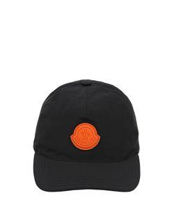 Moncler | Бейсбольная Кепка Из Нейлона С Логотипом