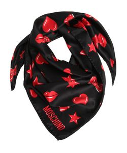Moschino | Printed Silk Satin Scarf