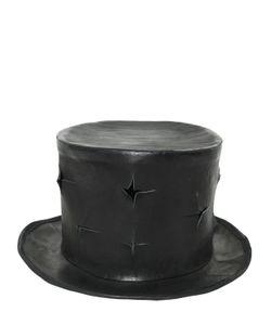 Move | Кожаная Шляпа С Декоративными Разрезами
