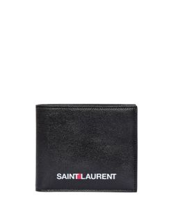 Saint Laurent | Logo Printed Leather Classic Wallet