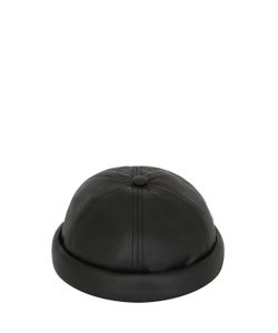 Béton Ciré | Handmade Nappa Leather Sailor Hat
