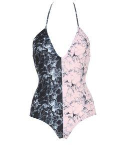 Albertine   Arizona Marble Duo Lycra Swimsuit