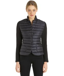 Moncler   Куртка Из Нейлона И Технотрикотажа