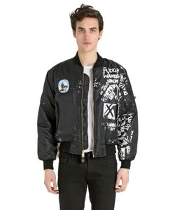 PATRICIA FIELD ART FASHION   Scooter Laforge Hand-Painted Jacket