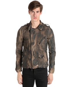 Giorgio Brato | Кожаная Куртка С Винтажным Эффектом